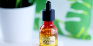 The body shop Oil of life Review